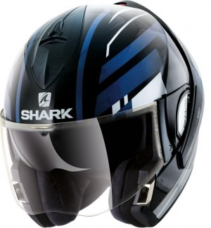 SHARK EVOLINE Series 3 CORVUS  color Black White Blue