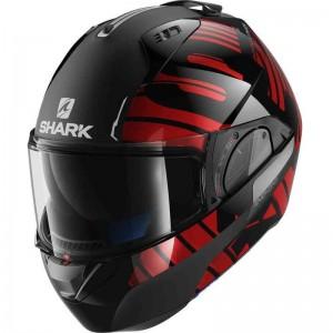 SHARK EVO-ONE V2 LITHION color Black Chrom Red