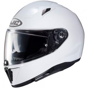 HJC i70 METAL / PEARL WHITE
