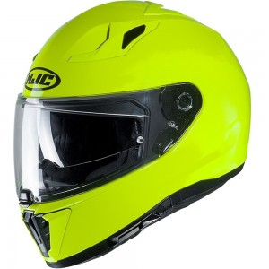 HJC i70 SEMI FLAT / FLUORESCENT GREEN