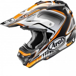 ARAI MX-V BOGLE ORANGE