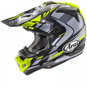 ARAI MX-V BOGLE YELLOW