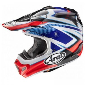 ARAI MX-V DAY RED