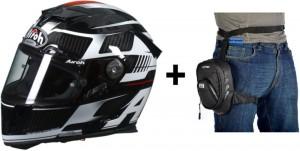 Airoh GP-500 Black Gloss