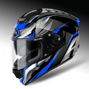 AIROH T600, Bionic, Blue Gloss